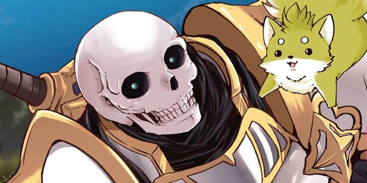 Skeleton Knight in Another World